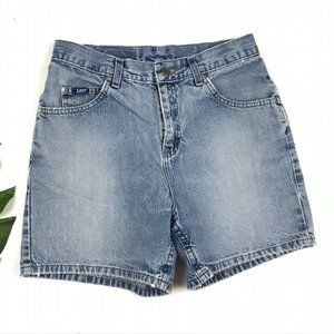 Vintage Lee High Waist Denim Shorts Jean 5 Pocket